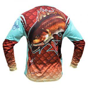 Redfish Shirt, Back