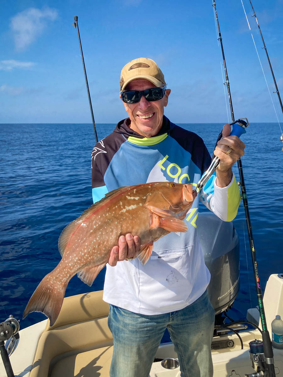 Fishing Tampa Bay, the catch on a Fish Huge charter